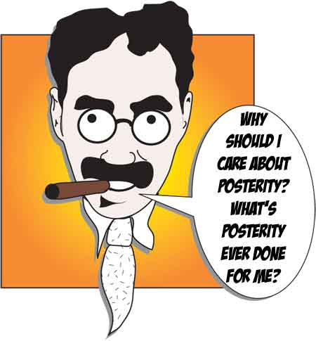 Groucho Marx - Illustrated by Andy Howells