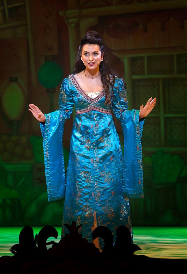 Actress Jazmin Hudson-Owen stars as Princess Jasmin in Newport Riverfront's 2017 pantomime, Aladdin.