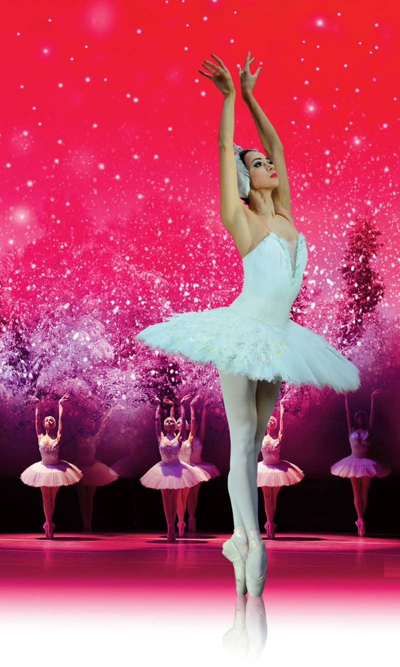 Ekaterina Bulgutova performs with the Russian State Ballet of Siberia at Cardiff;s St David's Hall