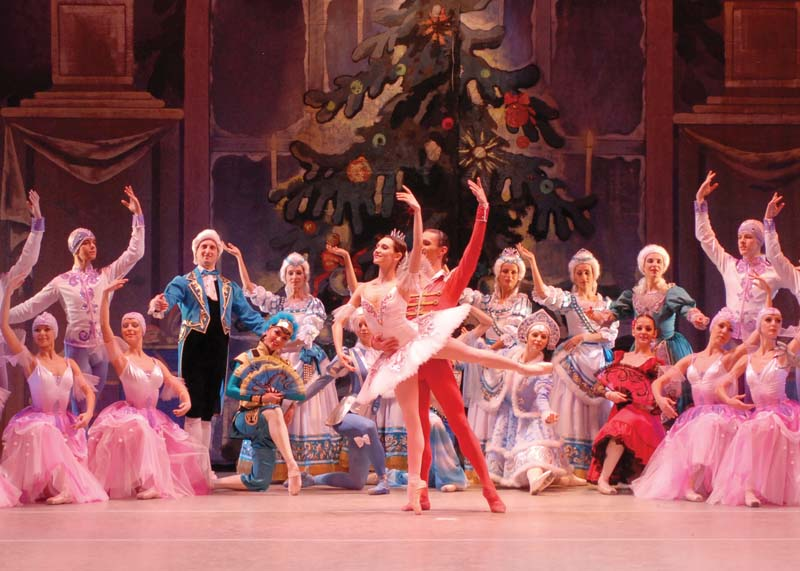 A scene from The Nutcracker presented by Ekaterina Bulgutova and the Russian State Ballet of Siberia