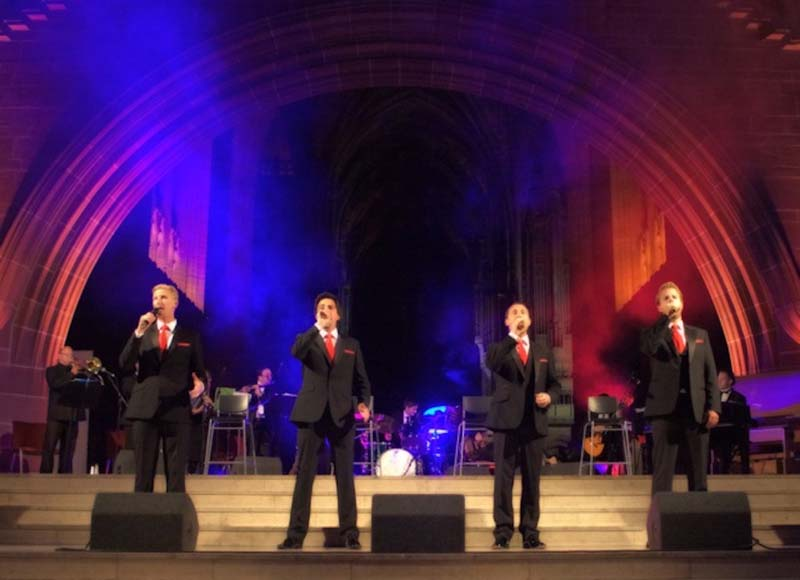 The Opera Boys will commence their 2018 tour with two dates in Wales