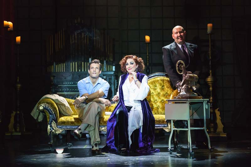 Danny Mac will co-star with Ria Jones when Sunset Boulevard comes to Wales Millennium Centre