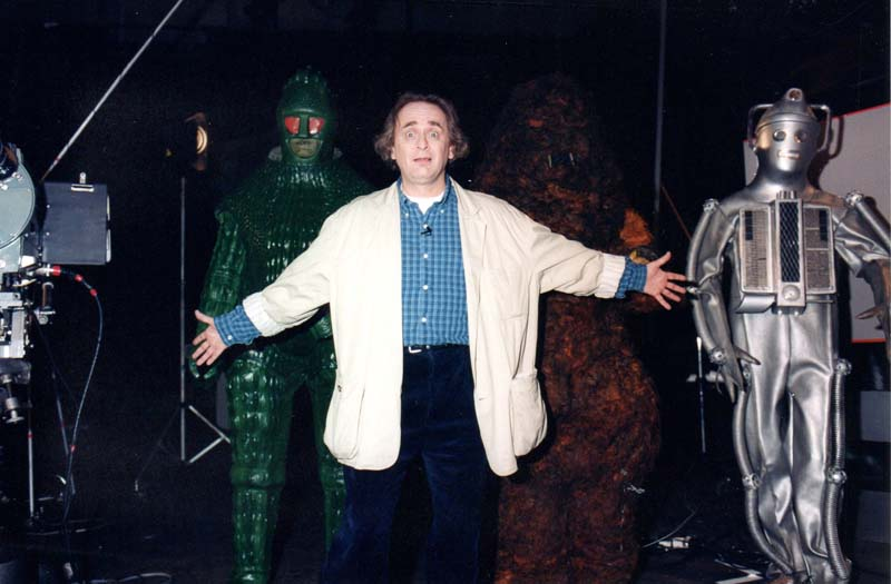 Sylvester McCoy hosts the documentary I Was A Doctor Who Monster on the forthcoming The Doctors: Monsters DVD release