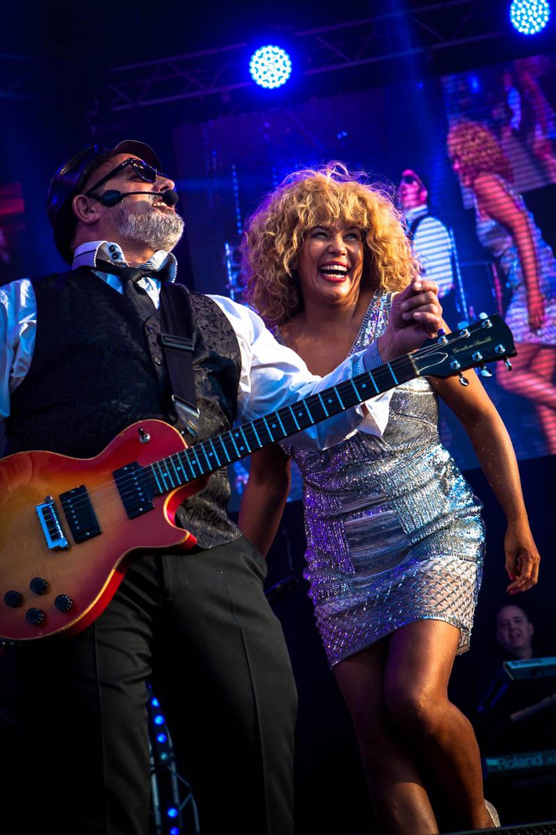 Justine Riddoch will perform Tina Turner classics at St David's Hall