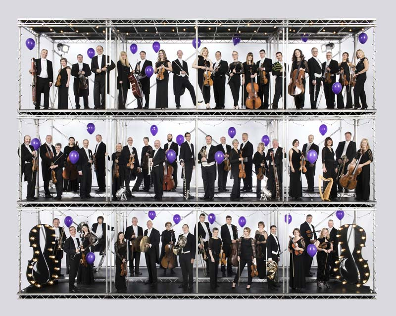 BBC National orchestra of Wales are celebrating their 90th year