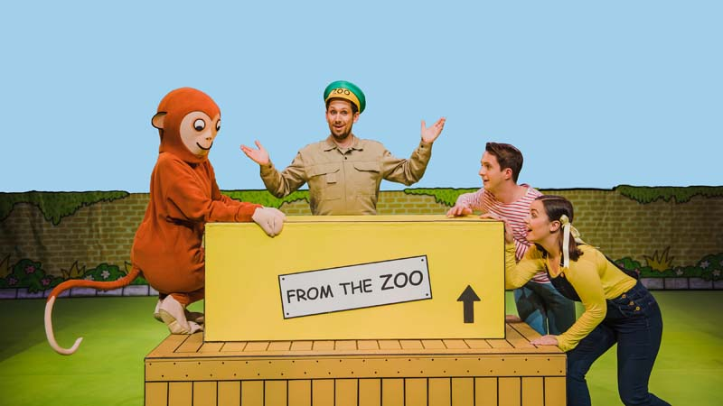 All the fun of Rod Campbell's Dear Zoo will come to life on stage at Swansea Grand
