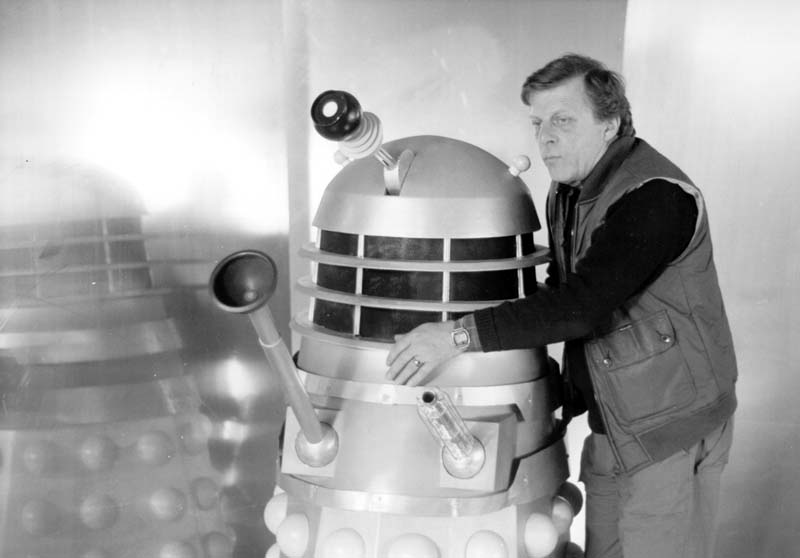 BBC Designer, Raymond Cusick created the look of The Daleks for  Doctor Who  in 1963 and is one of the featured interviews on The Doctors: Monsters! released by Koch Media.