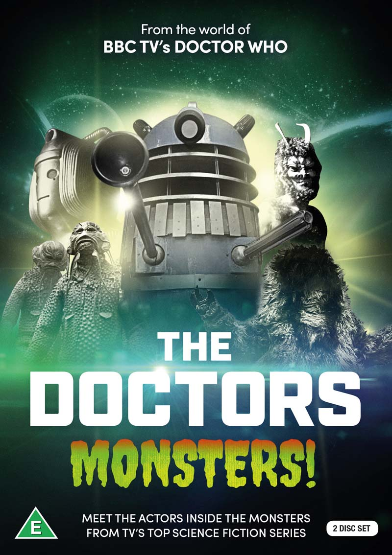 The Doctors: Monsters!  is available via Koch Media from March 5.