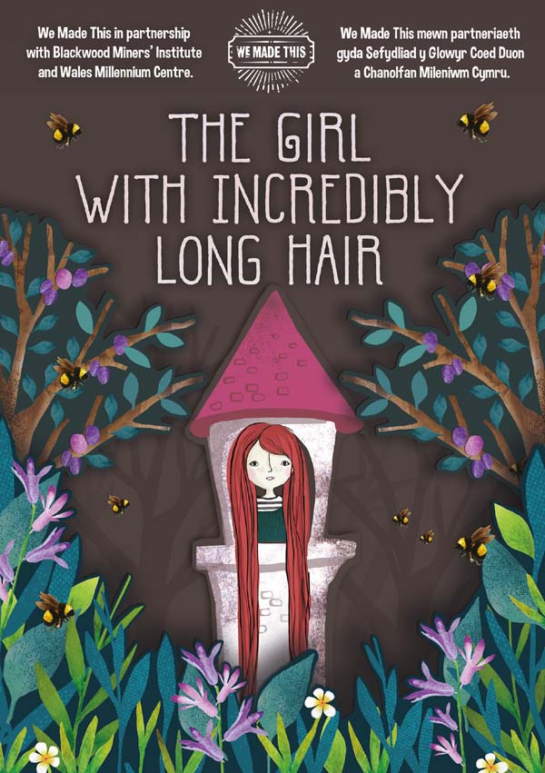 The Girl With Incredibly Long Hair reimagines the story of Rapunzel