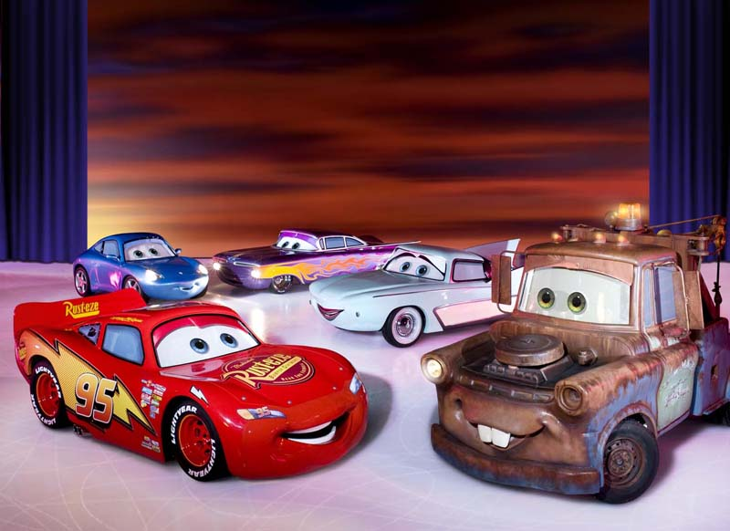 Disney favourites will be driving in to Cardiff for this years Disney on ice extravaganza.