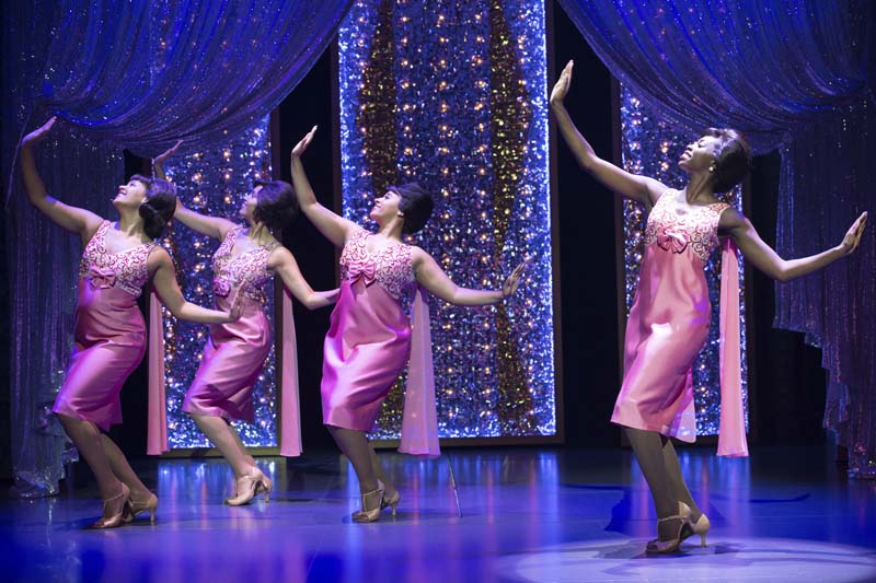 A Shirelles performance of Will You Still Love Me Tomorrow? recreated for Beautiful - the carole King Musical coming to Bristol Hippodrome during April 2018. Photo: Craig Sugden