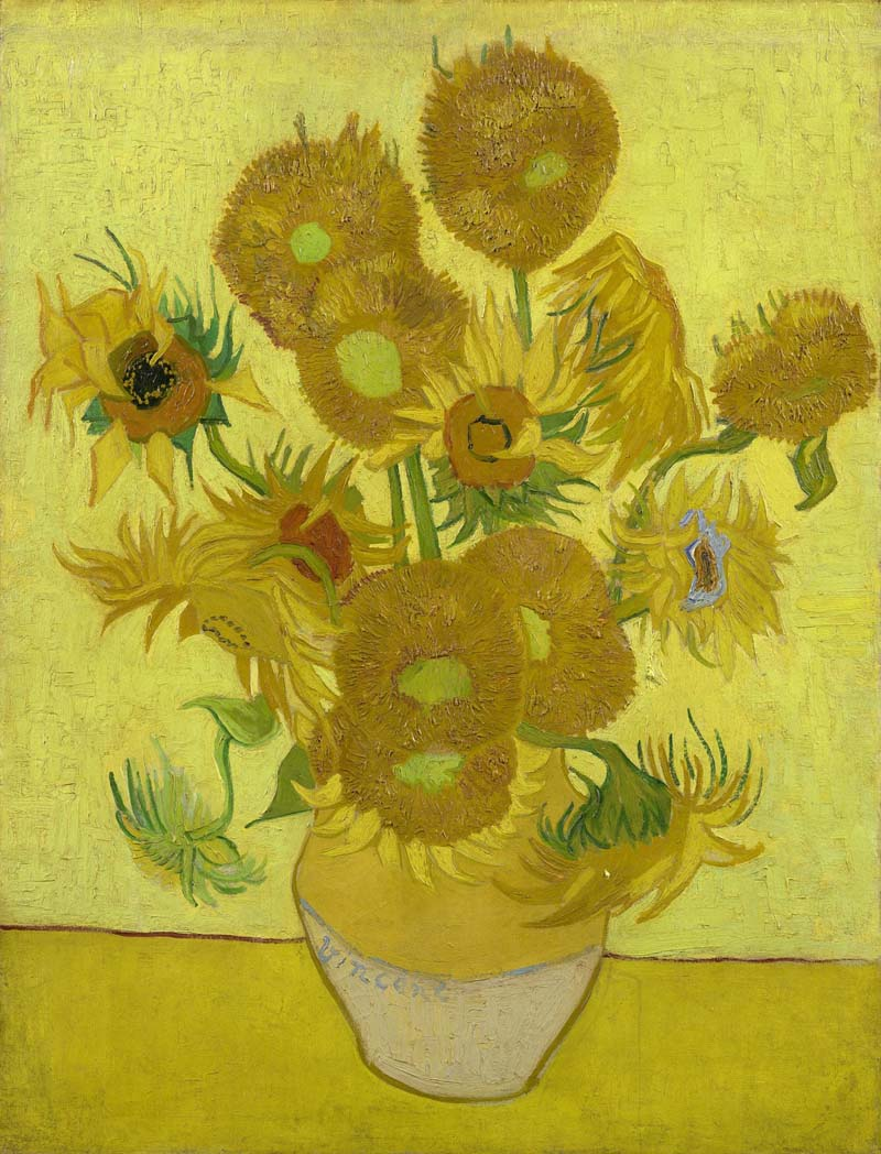 Vincent Van Gogh Sunflowers, 1889 (Van Gogh Museum)r will be examined in  Vincent Van Gogh - A New Way Of Seeing  to be screened at The Drill Hall, Chepstow