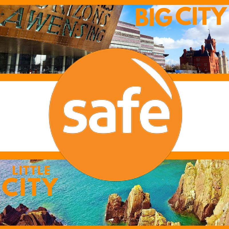 Big City Little City sponsored walk starts at Cardiff's Millennium Centre on Wednesday, May 23 and finishes at St David's Cathedral more than 200 miles and ten days later.
