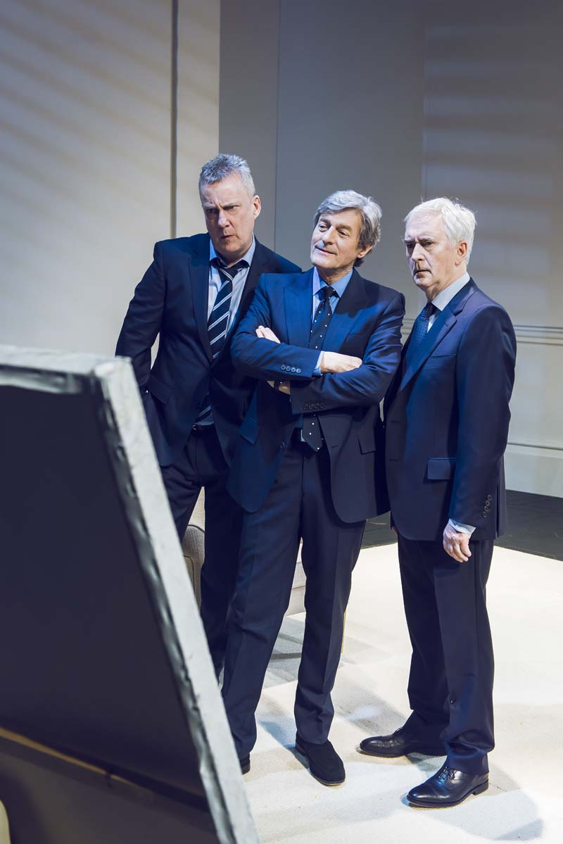 Stephen Tompkinson, Nigel Havers and Denis Lawson star in ART whichcomes to Wales Millennium Centre from May 28 to June 2. PIcture: Matt Crockett