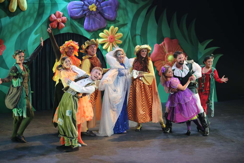 The Tickledom cast return in Basil and The Ice Witch which plays plays at New Theatre, Cardiff from on 19 - 23rd June 2018 and Grand Theatre, Swansea on from June 26-30 2018. Pictures: Natalie Rolley.