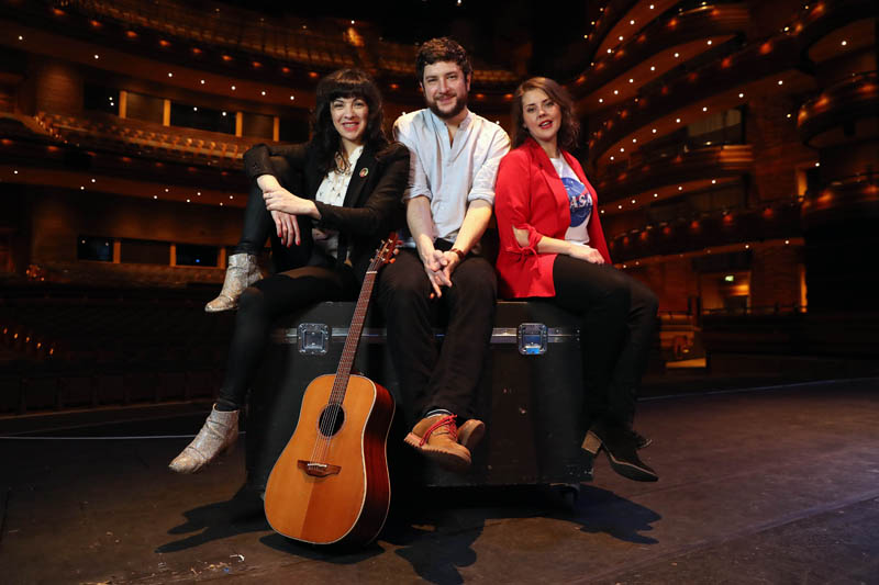 Camille O'Sullivan, Gareth Bonello aka The Gentle Good and actress Carys Eleri are some of the artists taking part in 2018's Festival of Voice,