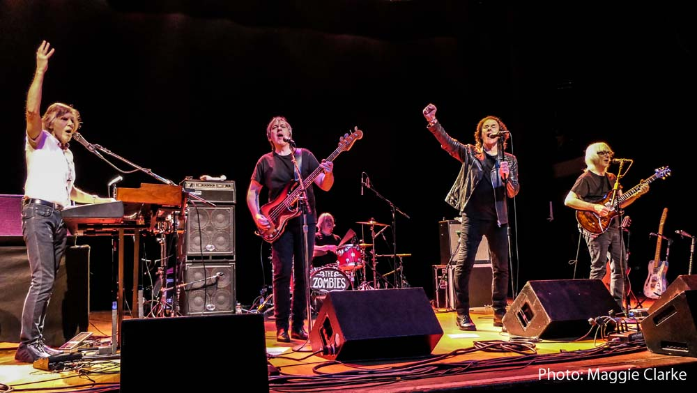 The Zombies featuring Colin Blunstone and Rod Argent will play Cardiff's Tramshed on June 12, 2018