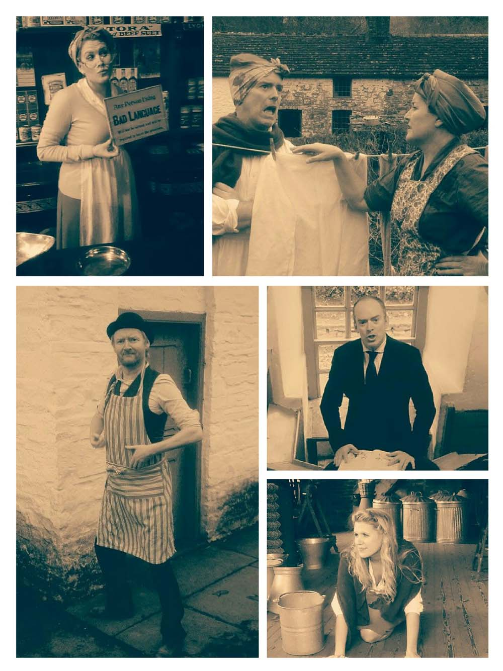 Theatr Silures are aset to bring the characters of Dylan Thomas' classic, Under Milk Wood to life at Caldicot Castle on July 7, 2018