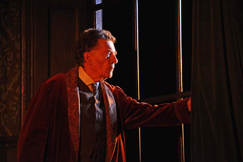 Robert Powell as Sherlock Holmes in  Sherlock Holmes: The Final Curtain  which plays Cardiff's New Theatre until June 30, 2018 Photo: Nobby Clarke.
