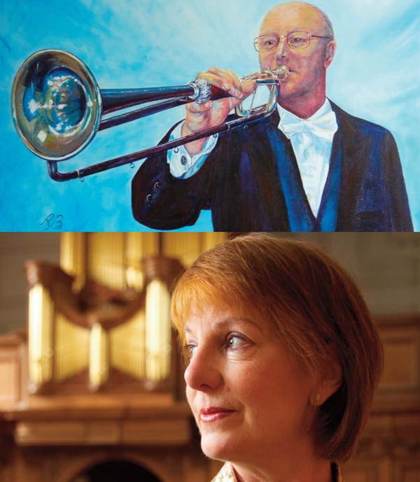 Trumpeter,Crispian Steele-Perkins joins organist, Anne Page for an afternnon of music at The Welsh Proms.