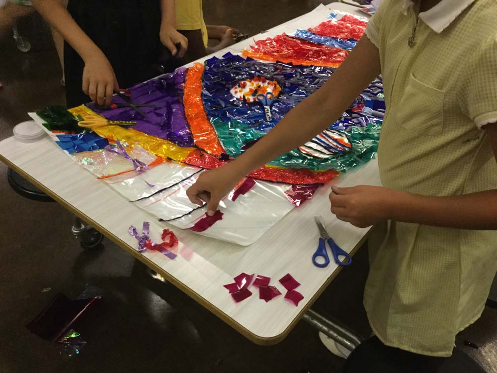 Local schools participate in preparing for Newport's Big Splash festival