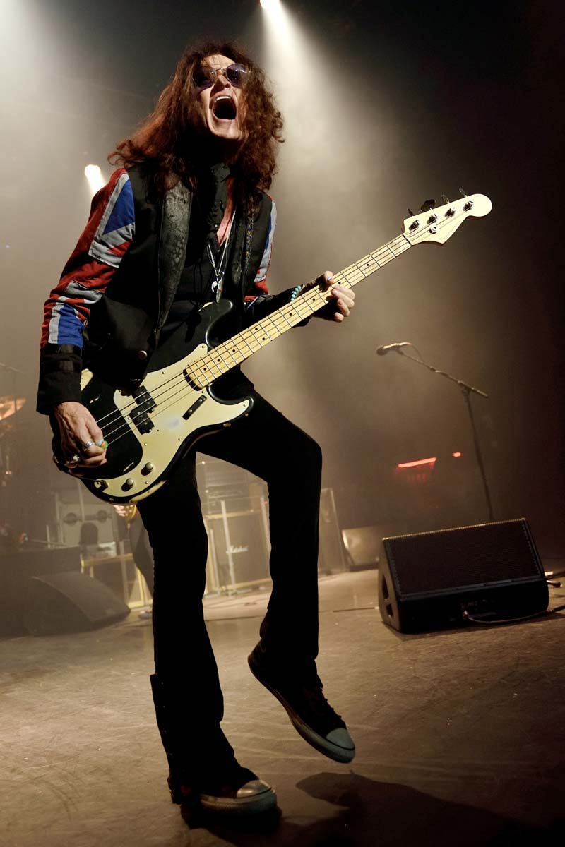 Glenn Hughes plays Cardiff Tramshed on October 6, 2018 Photos by Eric Duvet