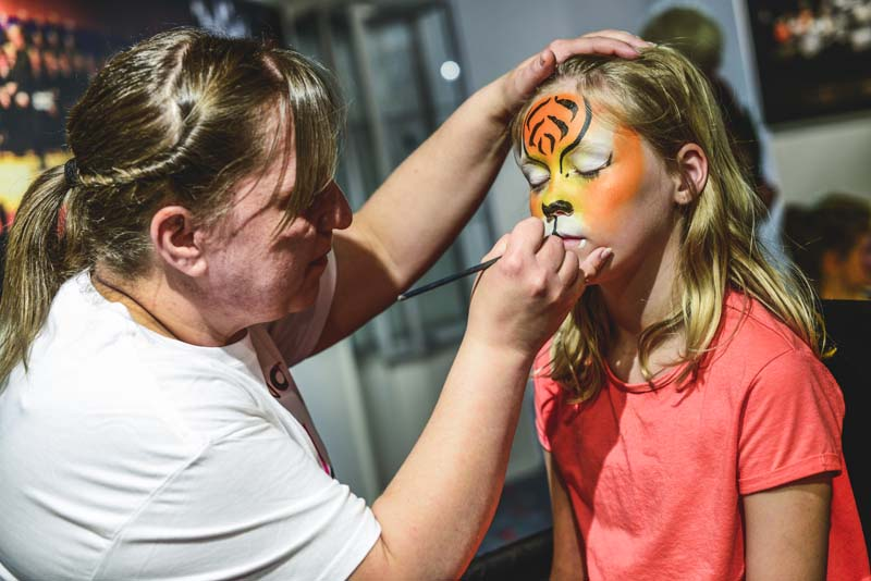 Pre-performance activies such as face-painting will add to the fun of the WNO Family Concert on October 28 at Cardiff's St David's Hall.