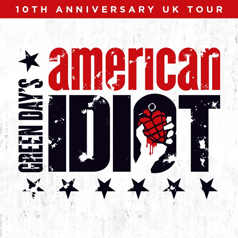 American Idiot - The Musical celebrates 10th anniversary with a UK Tour which comes to Cardiff's New Theatre in January, 2019