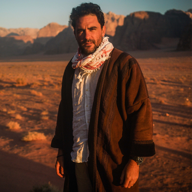 Levison Wood takes us to the biggest danger zones on earth in Journeys through the Badlands & Beyond at St David's Hall on Friday 2 November.