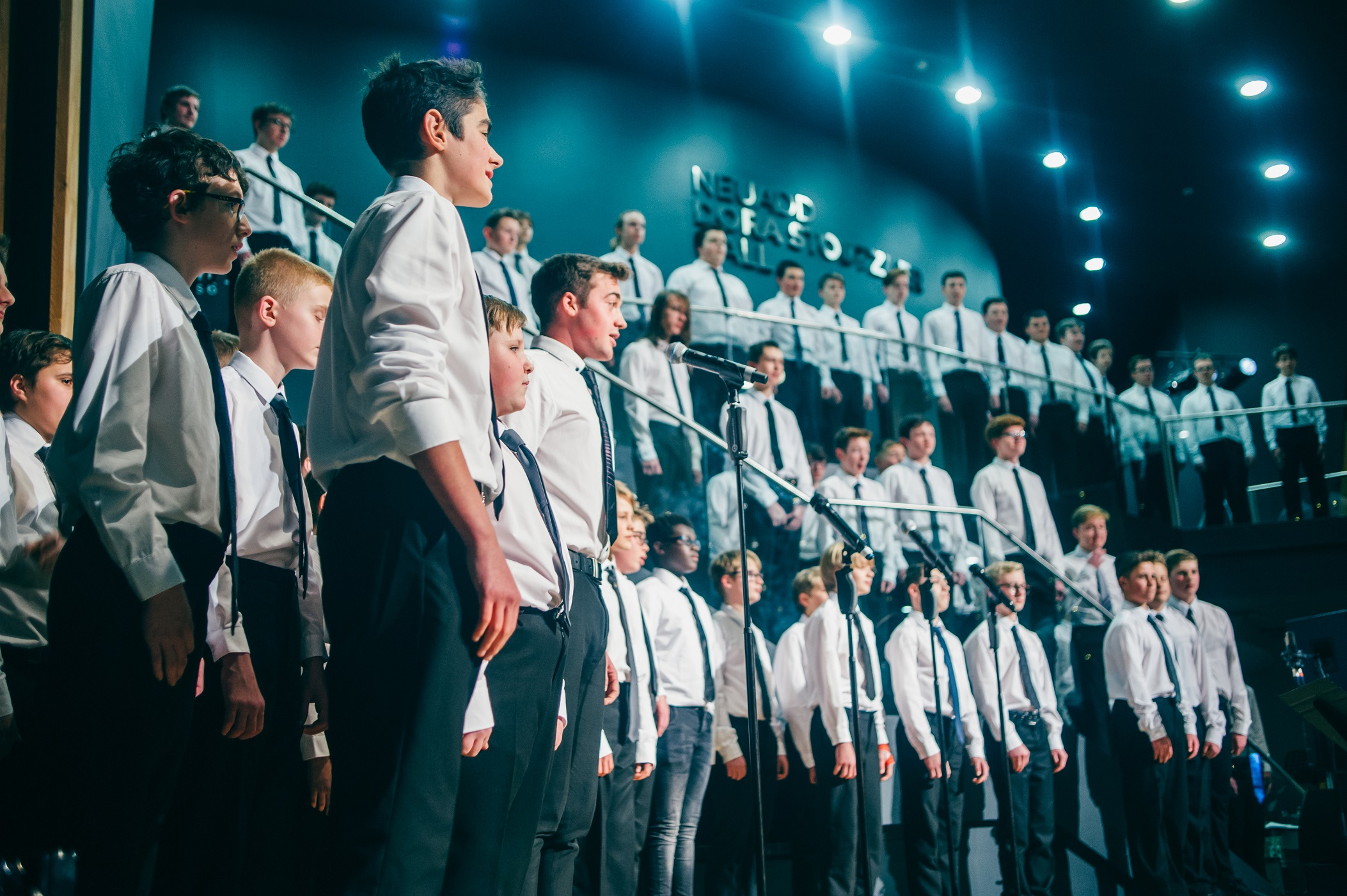 Only Boys Aloud will be taking part in Neil Collins chats to the Royal British Legion's remembrance event.at St David's Hall, Cardiff on November 3.