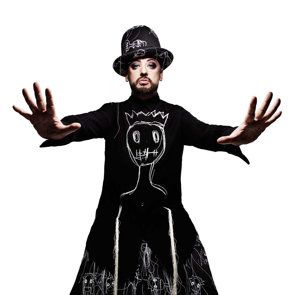 Boy George along with Culture Club took to the stage of Cardiff Motorpint Arena on November 10, 2018.