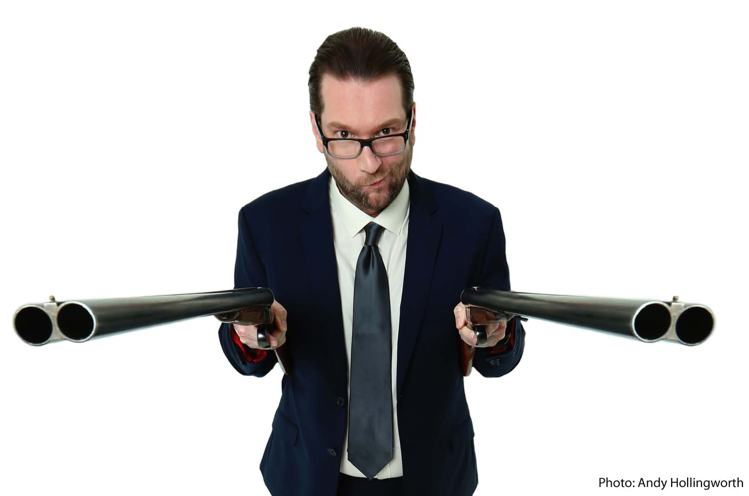 Gary Delaney plays Pontardawe Arts Centre on November 24, 2018 and Merthyr Tydfil's Redhouse on January 25, 2019. Photographs by Andy Hollingworth.