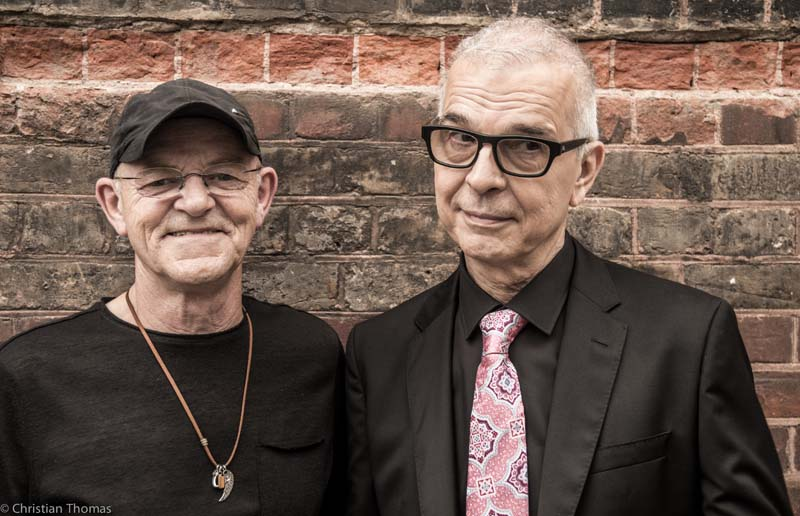 Woody Woodmansey and Tony Visconti of Holy Holy play Cardiff's Tramshed on February 16.