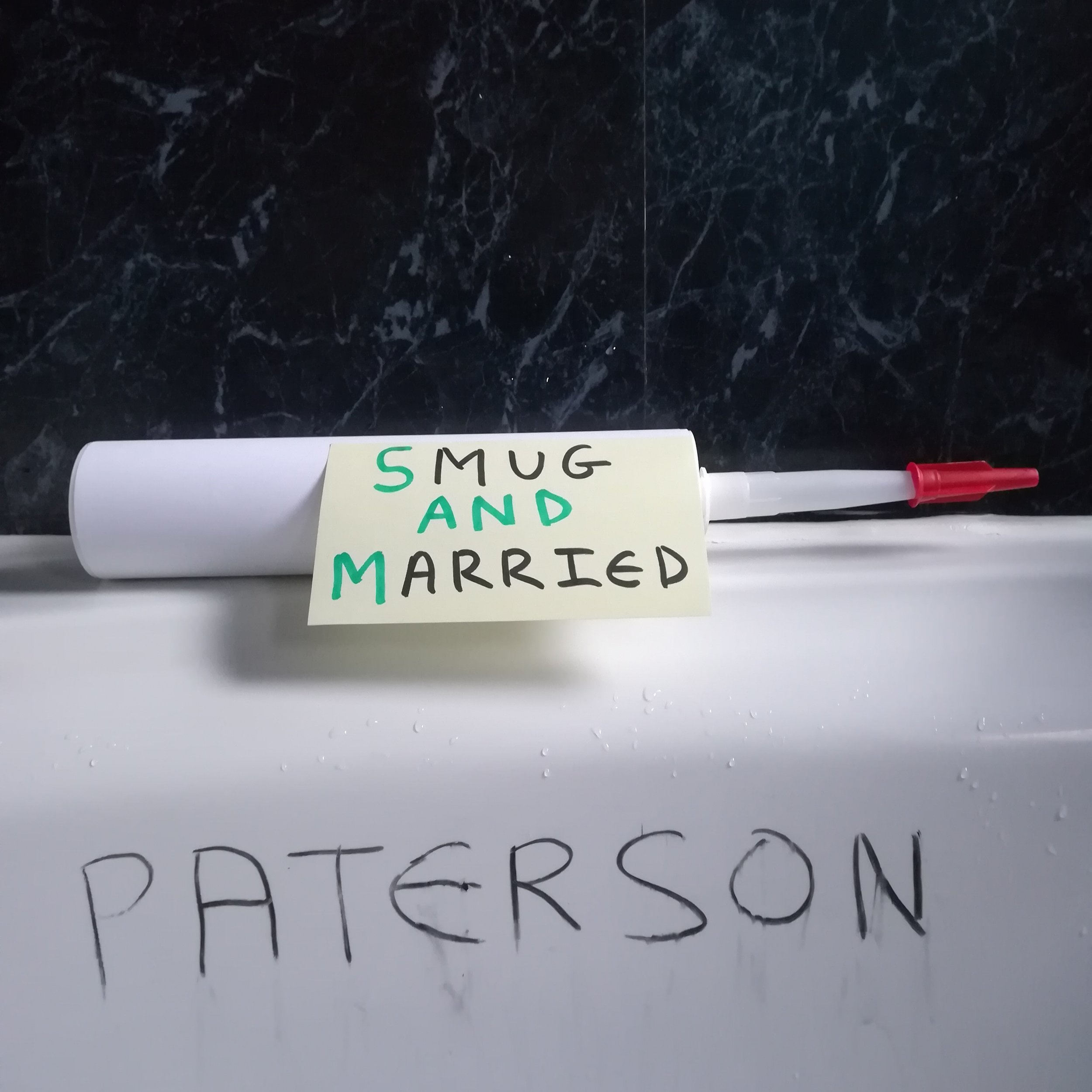Paterson's latest release, Smug and Married will be available from February 14.