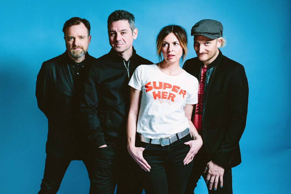 Louise with the reformed Sleeper are playing a UK tour in support of the band's fourth album, The Modern Age, their first new LP in 21 years.