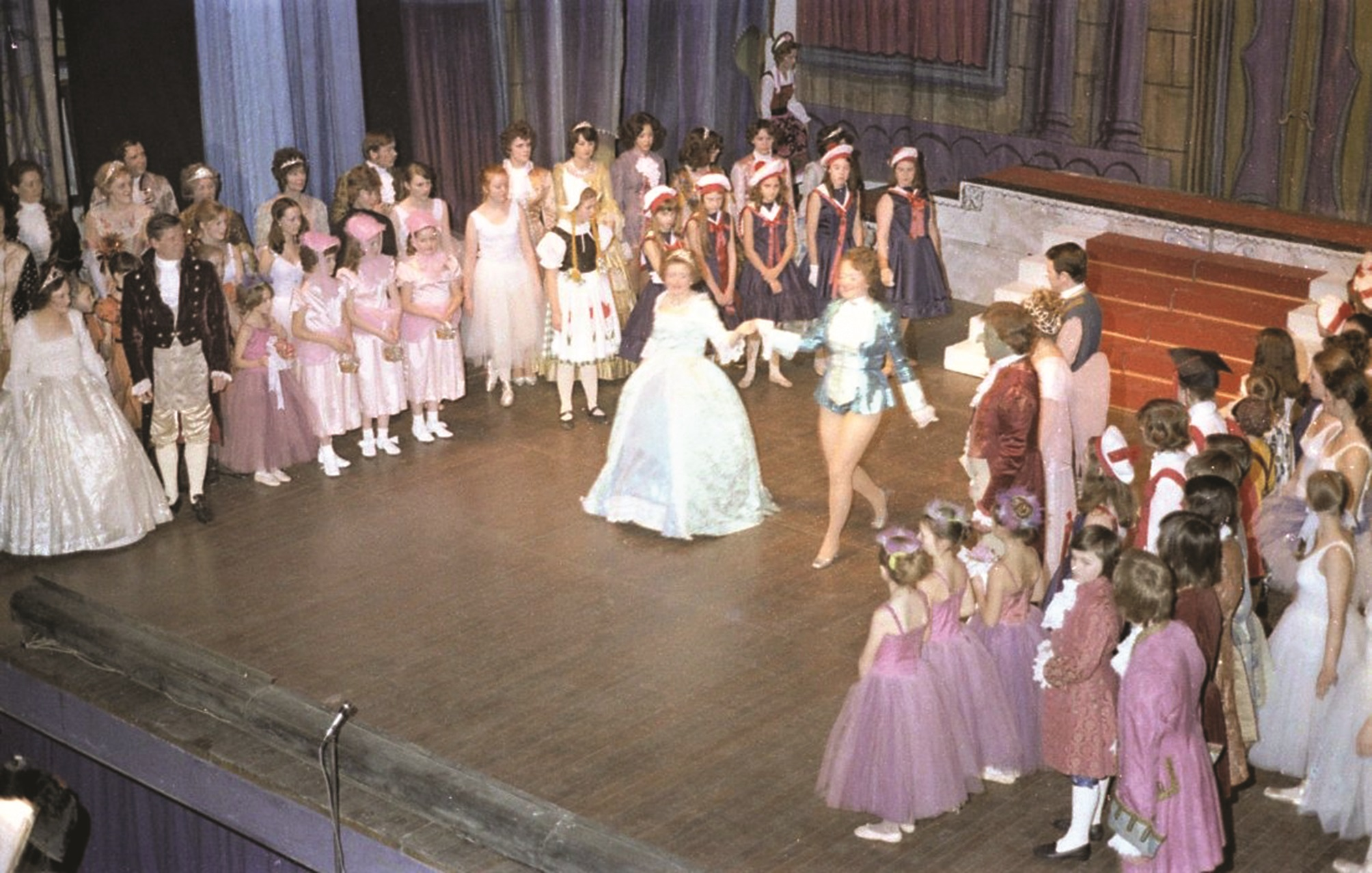 A scene from the 1974 pantomime staged at Newport's Dolman Theatre recalled along with other theatrical events in Jan Preece's book,  Now That's What I Call Newport,  published by Amberley.