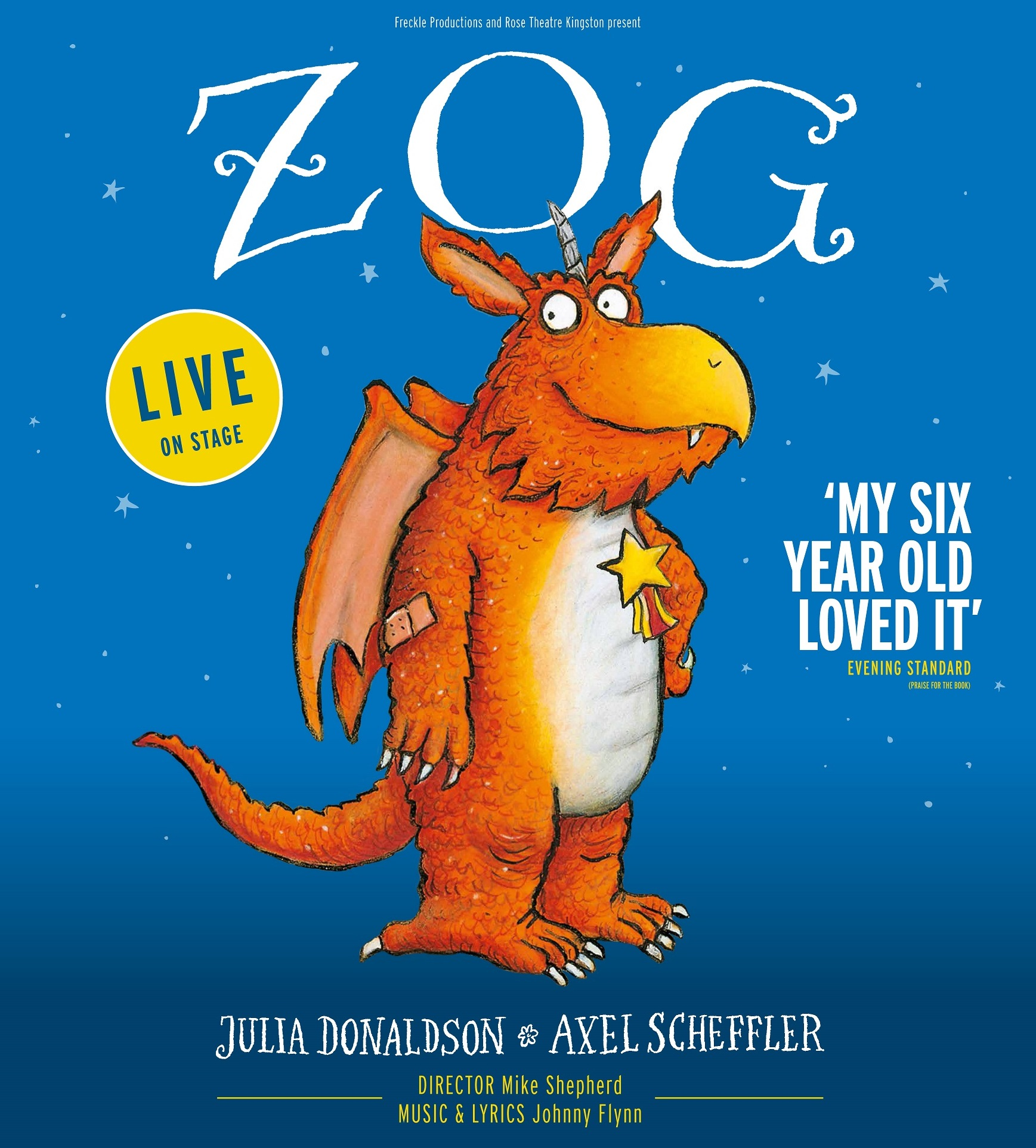 Julia Donaldson's Zog, is live to the stage at St David's Hall for six shows from Friday 26 – Sunday 28 April!, 2019.