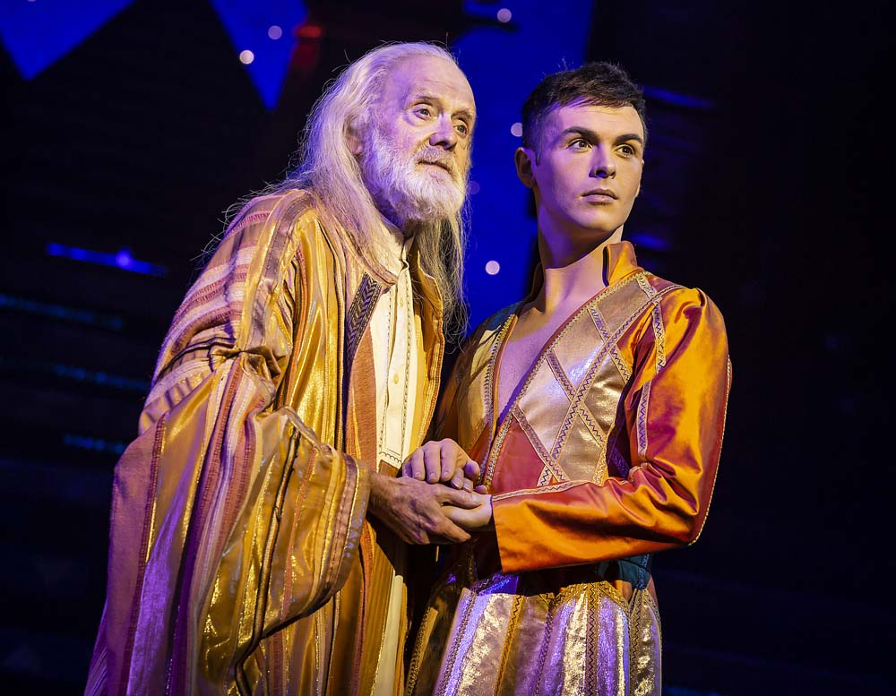 Jaymi Hensley stars as Joseph in Joseph and His Amazing Technicolor Dreamcoat  at Wales Millennium Centre from from Tuesday May 14th – Saturday May 18th. Photos by Pamela Raith Photography
