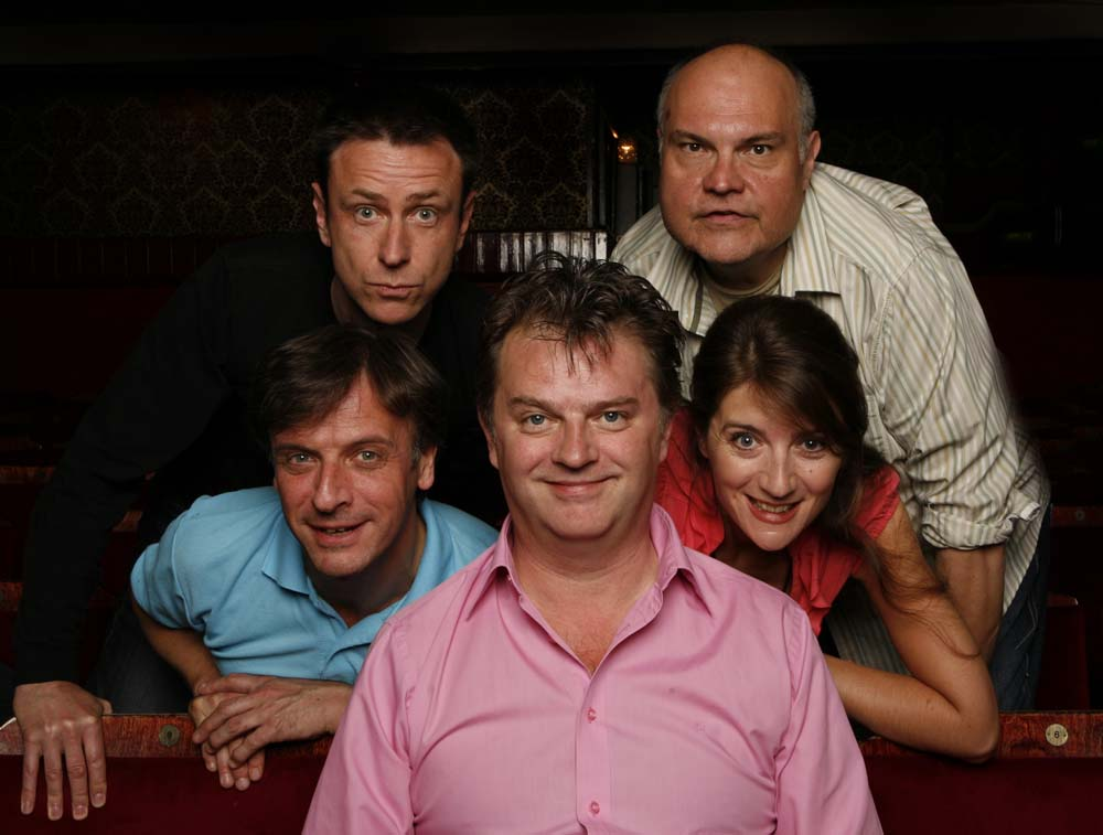 Paul Merton's Impro Chums played Newport's Riverfront Theatre on June 7, 2019