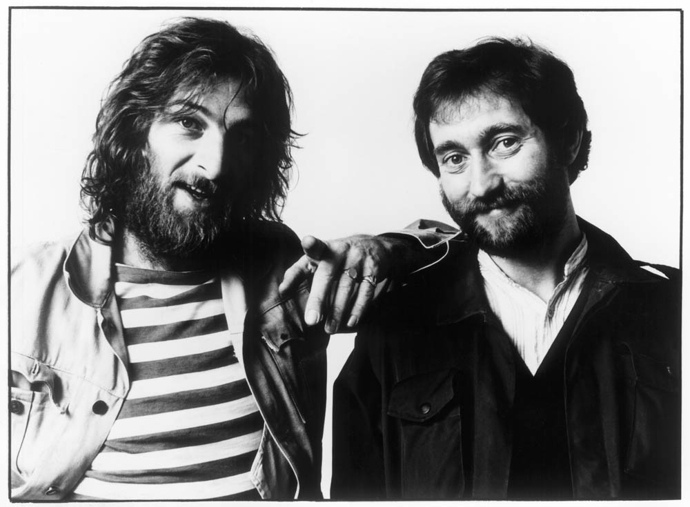Chas & Dave pictured in the 1980s.