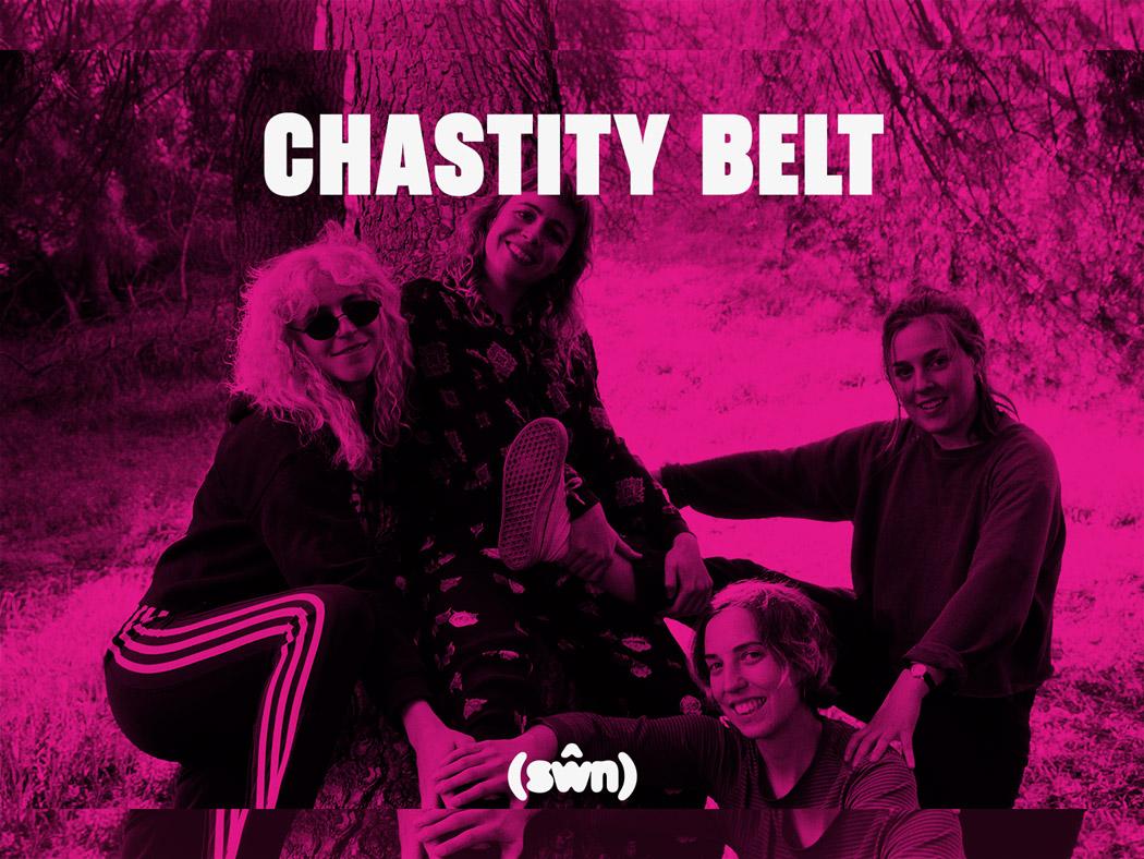 Chastity Belt will appear at Cardiff's award-winning festival, Sŵn
