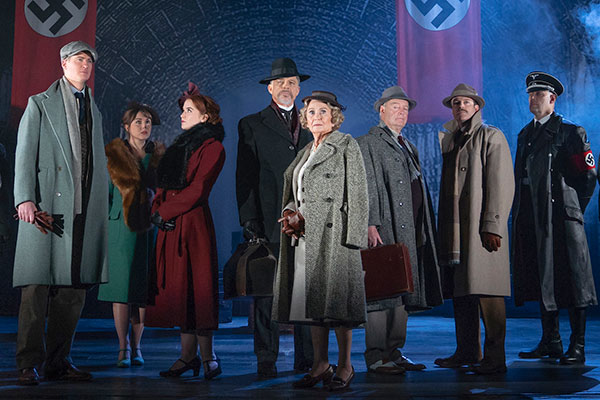 A scene from The Lady Vanishes which plays Cardiff's New Theatre from July 16-20