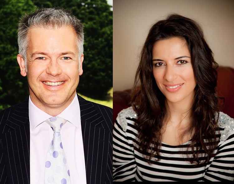 Derek Brockway and Behnaz Akghar will host the weather-themed prom at St David's Hall on July 21.