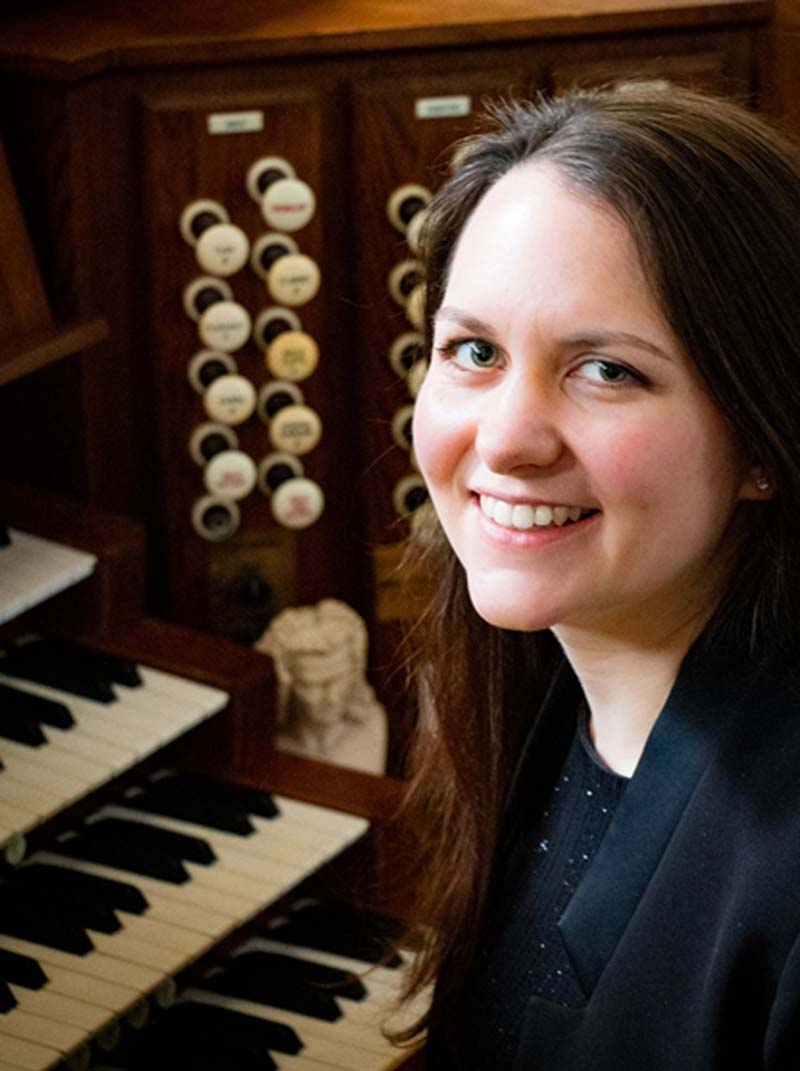 Welsh musician, Elin Rees will play the Organ Prom at St David's Hall on July 22, 2019.