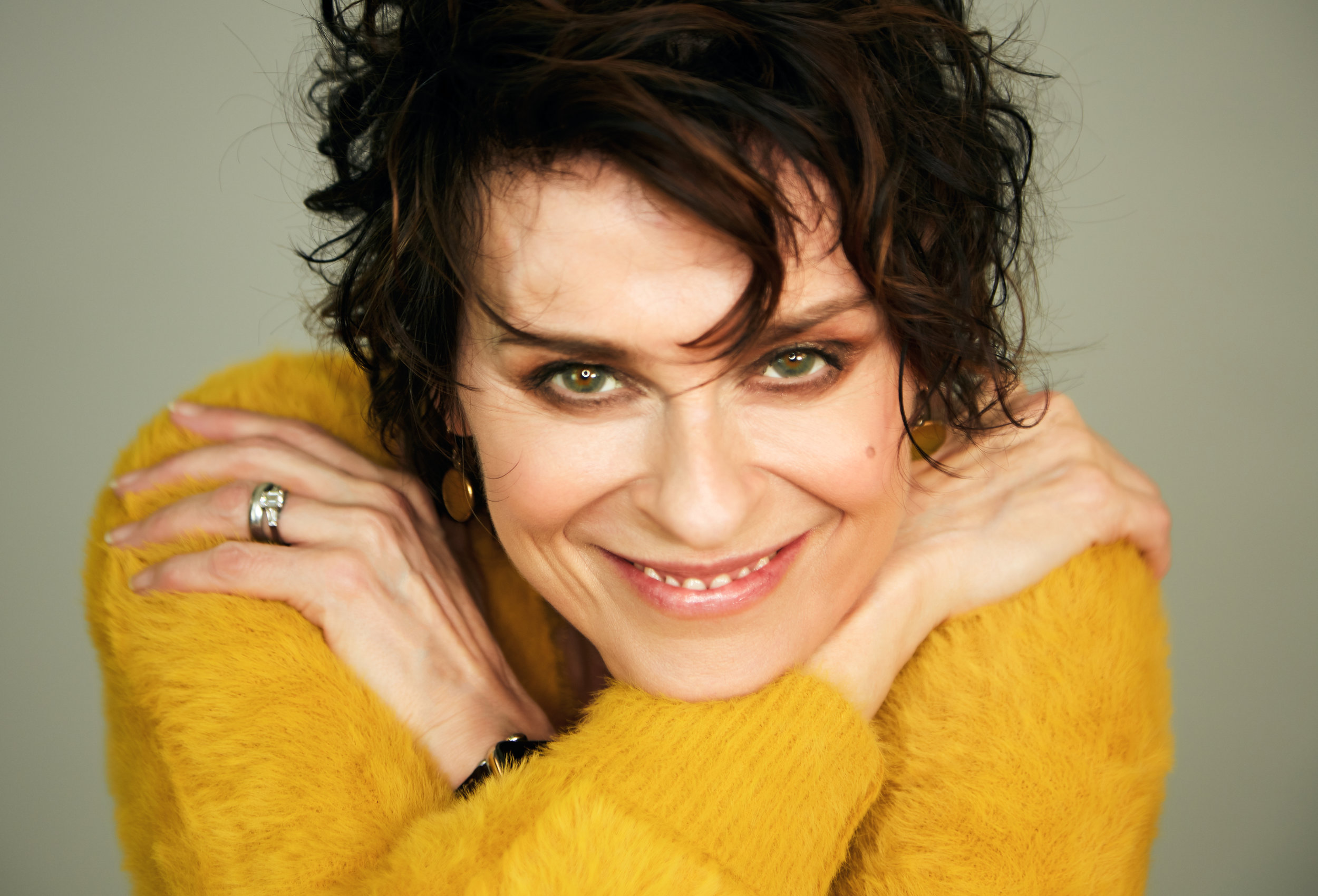 Lisa Stansfield plays st David's hall on November 1, 2019.