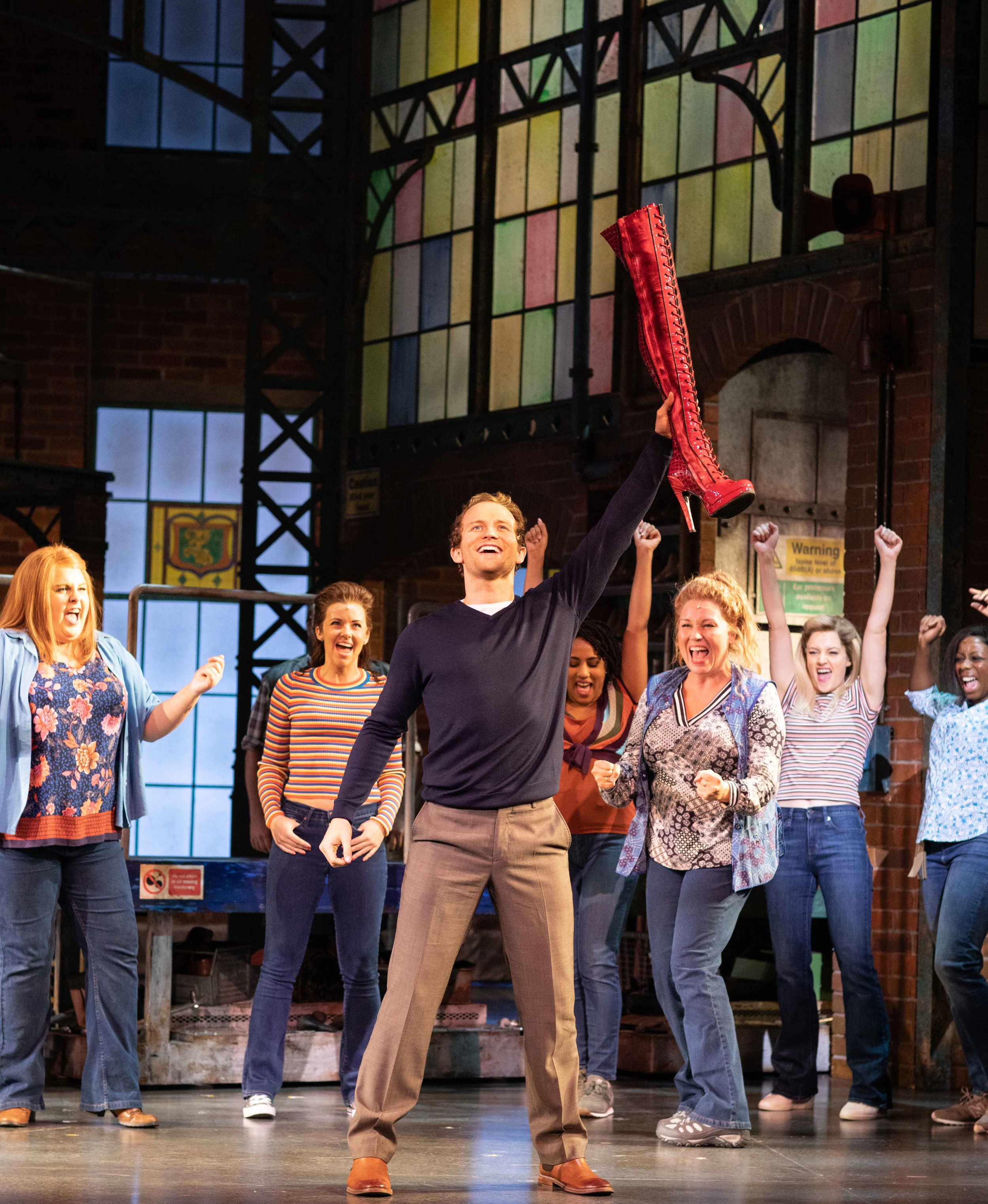 Kinky Boots starring Joel Harper-Jackson at Cardiff's Wales Millennium Centre until August 3, 2019.