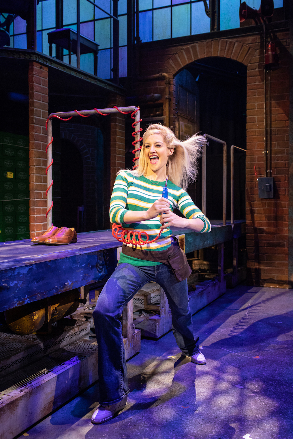 Kinky Boots starring Paula Lane at Cardiff's Wales Millennium Centre until August 3, 2019.