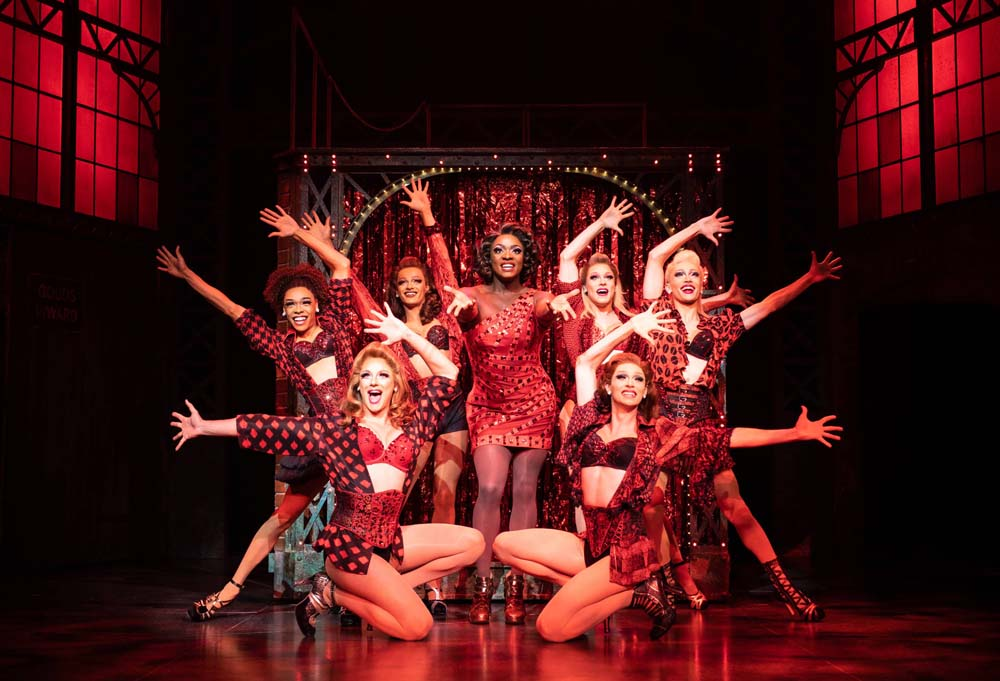 Kinky Boots starring Kayi Ushe, at Cardiff's Wales Millennium Centre until August 3, 2019.