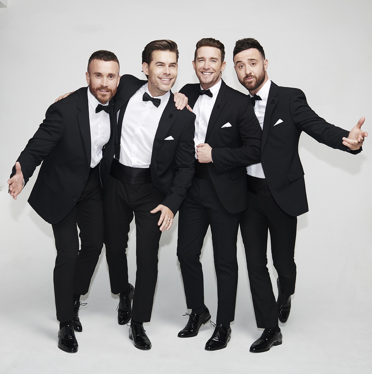 The Overtones play Cardiff's St David's Hall on December 16, 2019
