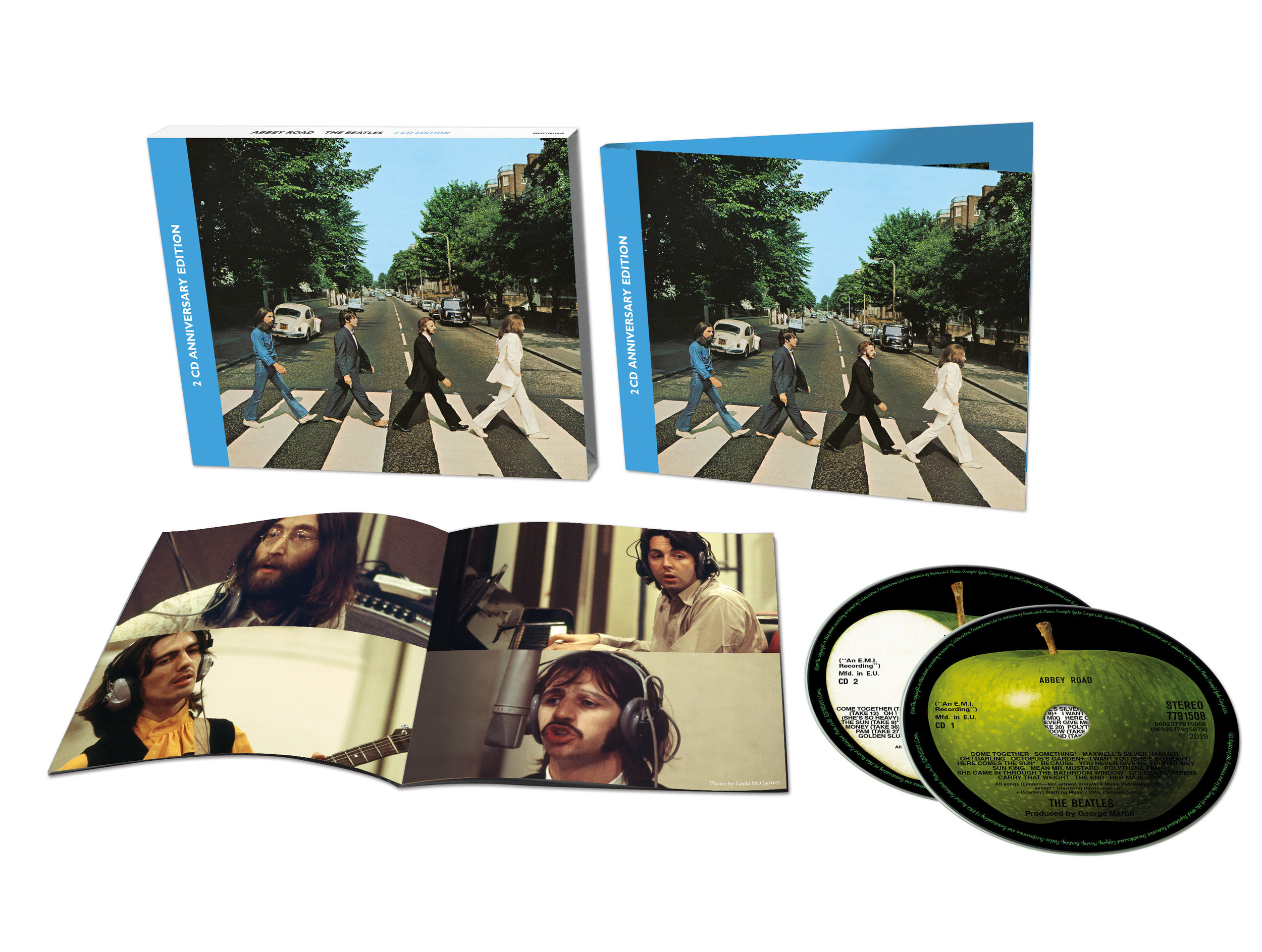2 CD Anniversary edition of The Beatles' Abbey Road.